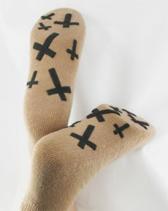 Crosses Large PromoTreds Socks