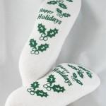 Happy Holidays PromoTreds Socks